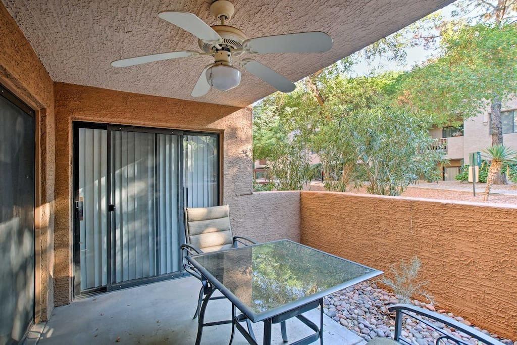 Unwind and relax while staying at this quaint Scottsdale vacation rental apartment sleeping up to 6 guests!