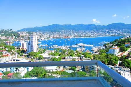 Hermoso Departamento en Twin Towers Acapulco