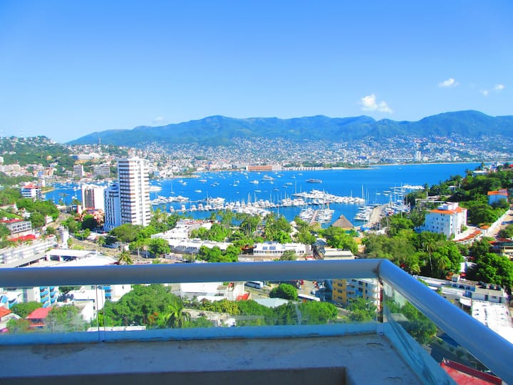 Hermoso Departamento en Twin Towers Acapulco