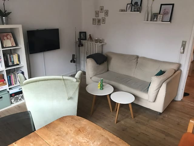 Cozy two-room apartment close to city center - Οντένσε - Διαμέρισμα
