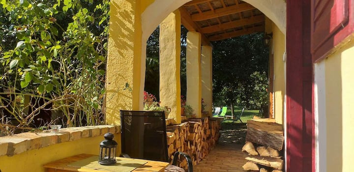 SHANTI Guest house in Hegymagas (family apartment)