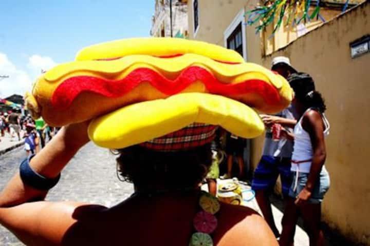 O melhor carnaval do mundo é aqui