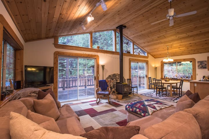 Cabin of the Moon in Tahoe Donner