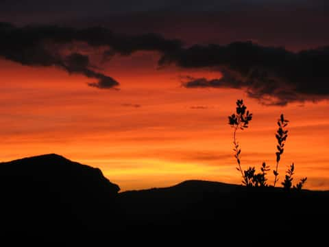 Almazen Botumirim. Paraíso na Serra (Chalé-kitnet)