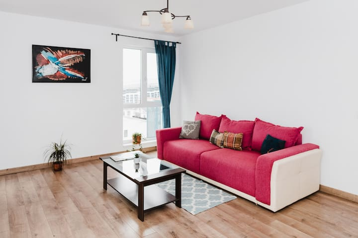 City View Apartment with FREE Parking