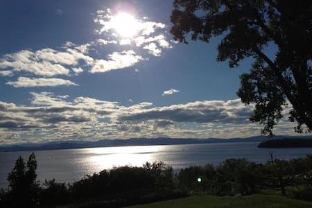 Lake Champlain & Adirondack Views - Burlington - Flat