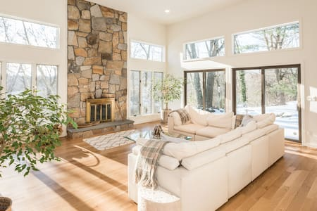 An Oasis in Armonk - Light-filled Contemporary - Armonk