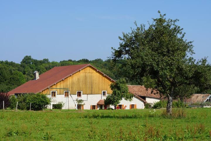 maison de type ferme comtoise