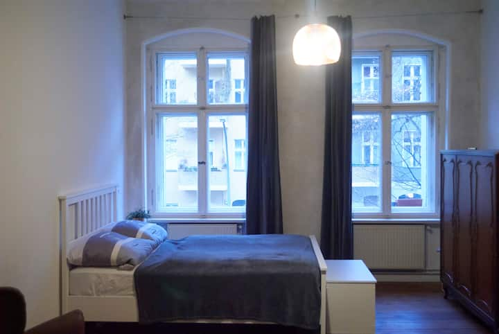 newly renovated room in the hippest part of Berlin