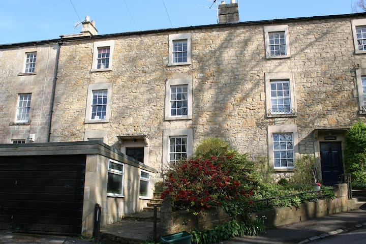 Georgian house in lovely village 10 mins from Bath - Freshford - Dom