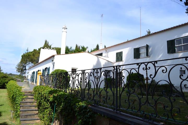 Quinta à beira do Rio Tejo