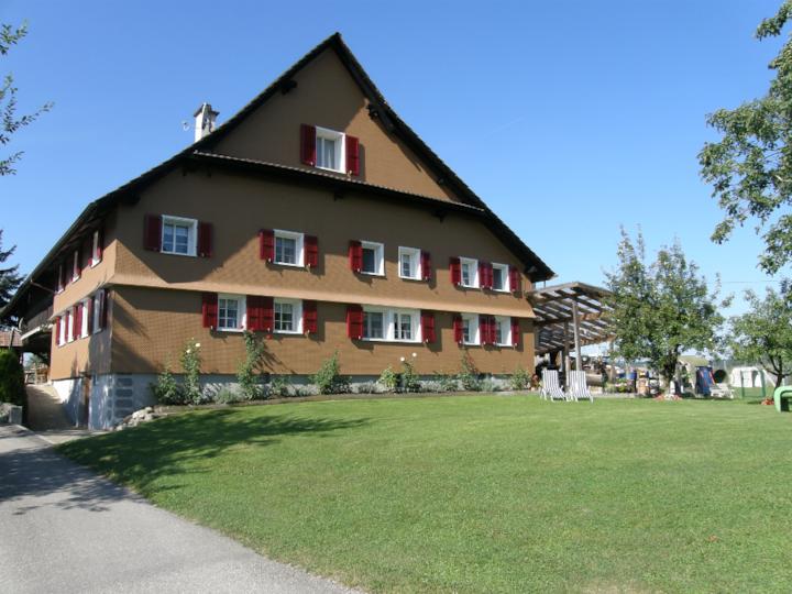 Gruppenhaus auf dem Bauernhof