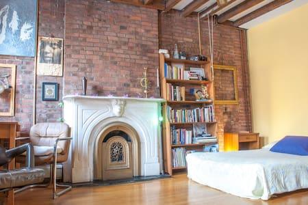 160sq/ft bedroom 10min to New York - Jersey City - Loft
