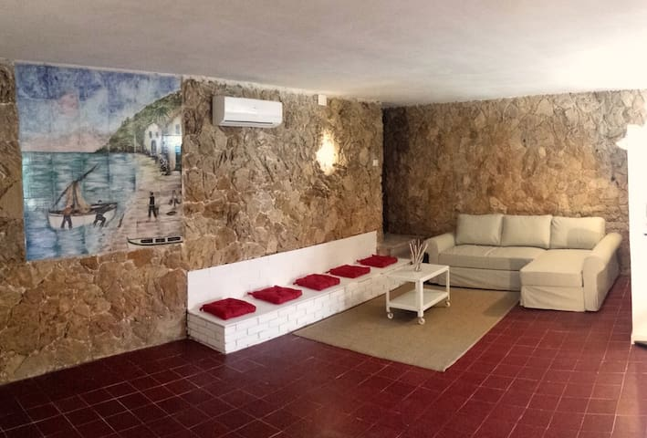 loft 20 meters from the sea!!! - Fontane Bianche - Loteng Studio