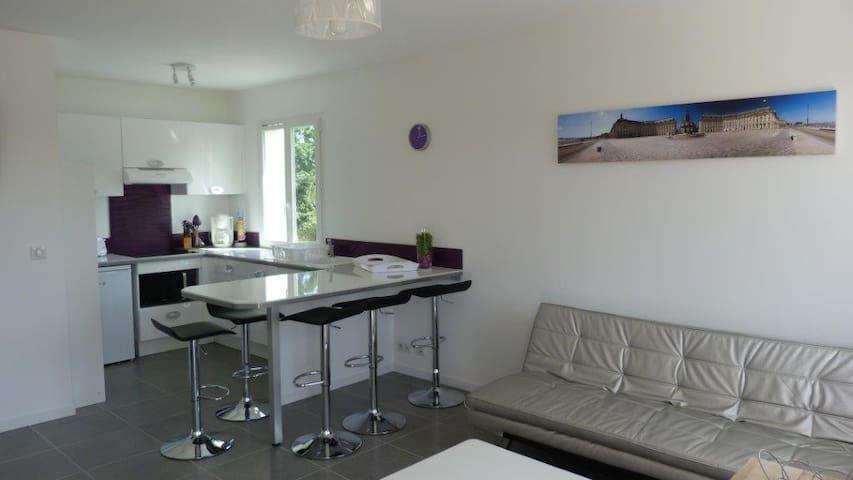 T3 neuf tt confort calme grande terrasse de 18m² - Saint-Julien-en-Born - Leilighet
