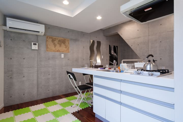 Shibuya, Harajuku: designers apt 05 - Shibuya-ku - Apartment