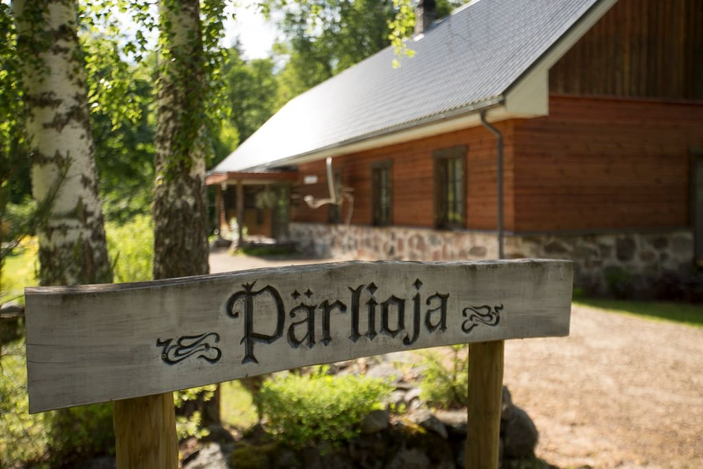 Welcome to Pärlioja, the most peaceful place in the World!