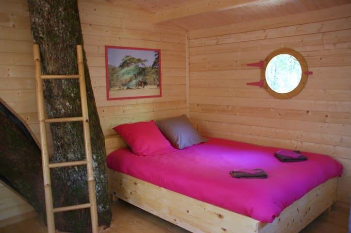 les cabanes d'Elo - Golinhac - Cottage