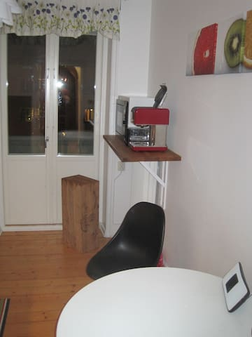 Diningtable in the kitchen