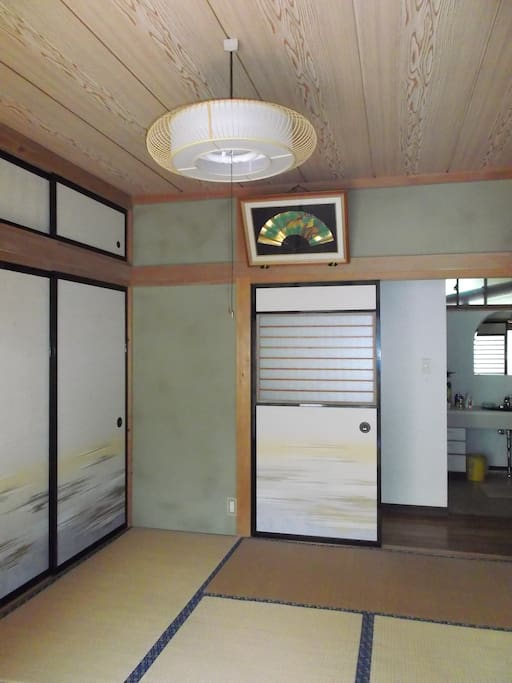 You can use Japanese-style room,too.