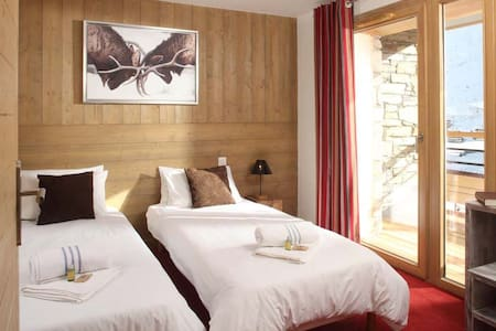 En suite double or twin room - Tignes