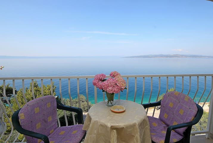 beautiful sea view apartment - Krvavica - Appartement