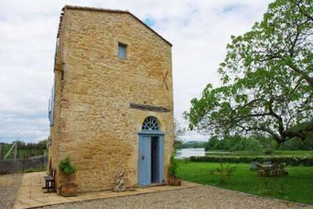 Suite avec jacuzzi et sauna privatifs 30' Bordeaux - Barsac - Gästesuite