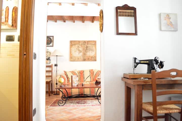 Il baule del viaggiatore studio old Montepulciano