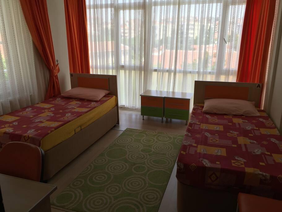 2 kişilik oda