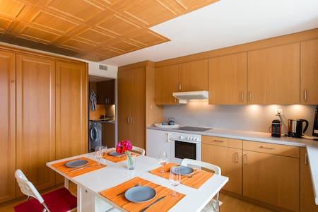 Joli studio dans la montagne Morgin - Morgins - Apartament