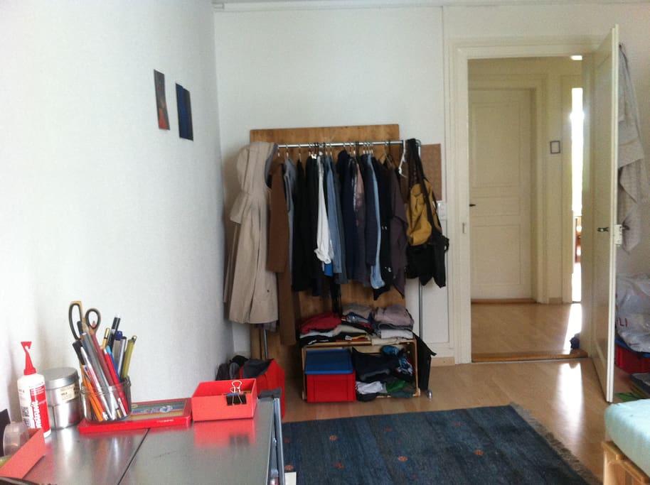 i'll empty the wardrobe for you