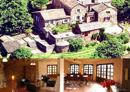Wonderful stone-house, Calm, View - Saint-Pierre-Saint-Jean - 獨棟