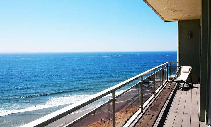 Amazing beach view apartment