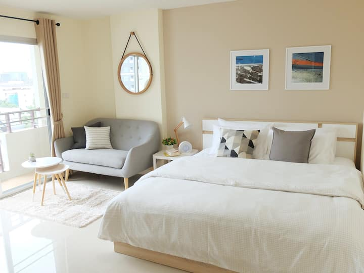 Cosy apartment close to Airport Link Station