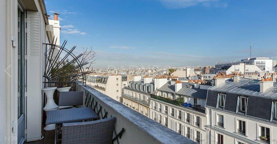Luxury residence near the Marais.