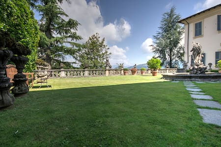 villa Agnesi between Milan, lake Como and Bergamo - Montevecchia - Villa