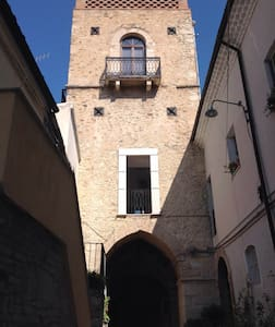 THE GALUPPI TOWER built in 1312 AD in Larino. - Larino - Other