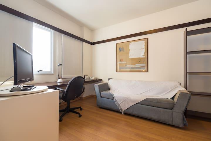 Flat em Alphaville - Quality Suites