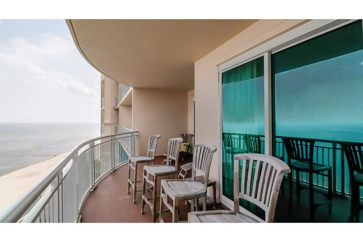Legacy II by Biloxi Beach Resort Rentals 2 Bedroom 2 Bath DLX Sleeps 8