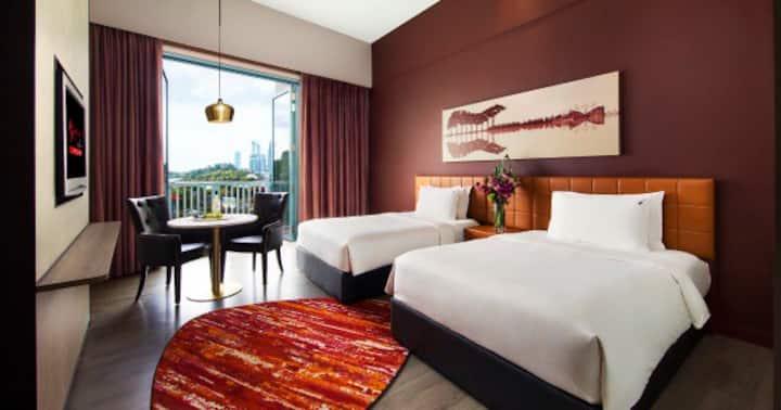 Hardrock hotel sentosa Singapore offer  硬石酒店特价房预定