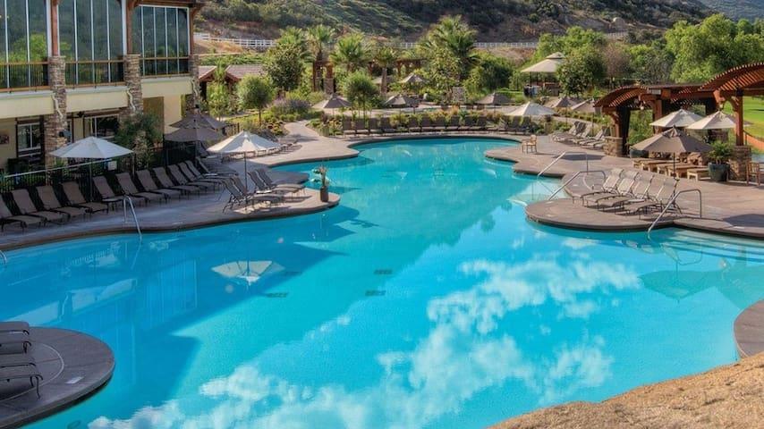 Welk Resort in San Diego with Rolling Hills