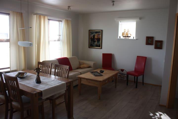 Cosy apartment in small town, Ólafsfjörður - Ólafsfjörður - Pis