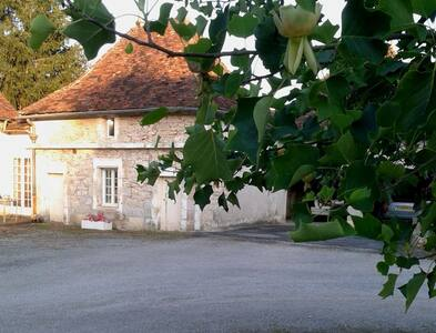 Dovecote cottage with Huge Pool - Saint-Martial-d'Albarède - Rumah