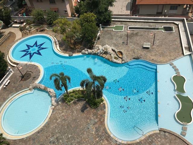 Seafront beach resort condominium (Melaka)