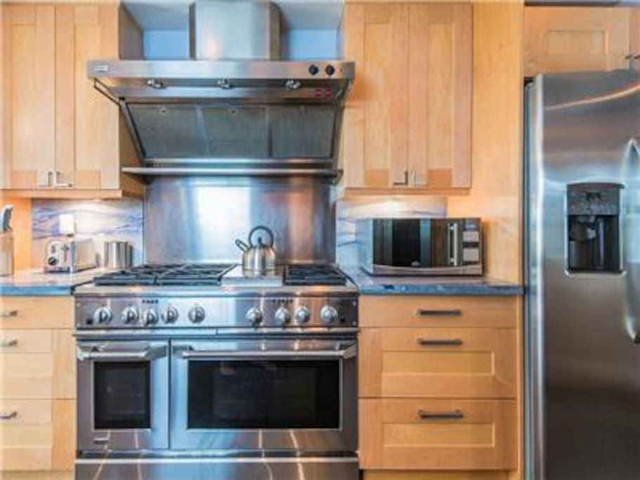 TC Stainless steel appliances.