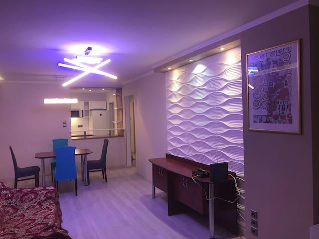 Modern apartment in Buda hills
