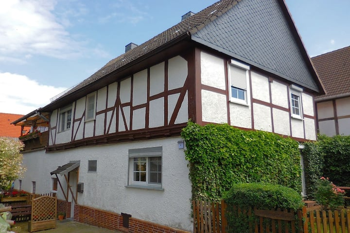 Small apartment in Hesse with terrace and garden