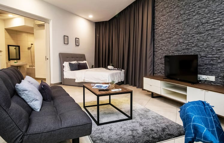Octagon#5, 2BR/8pax, Stay in the heart of Ipoh !