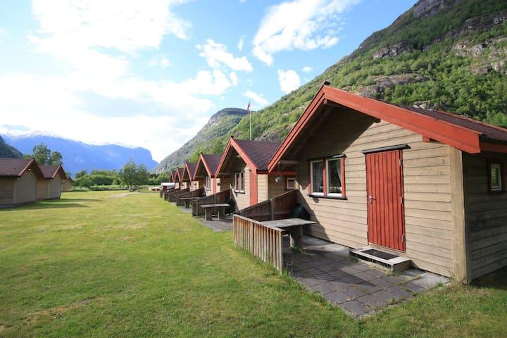 Cabin 4 - Aurland Valley - sleeps 4 - Aurland