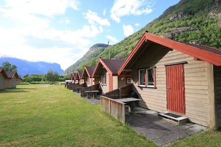 Cabin 4 - Aurland Valley - sleeps 4 - Aurland - Blockhütte